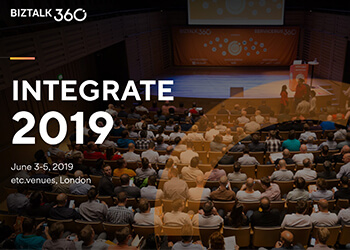 Integrate 2019 London, First Impressions
