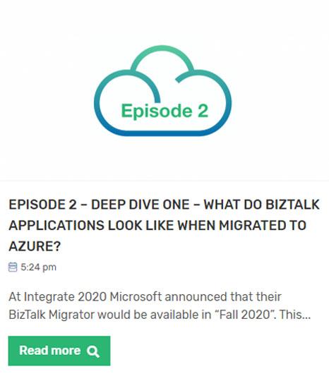 BizTalk to Azure Migration Webinar Episode Two